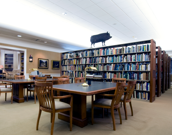 The Main Reading Room of the NSLM Library.