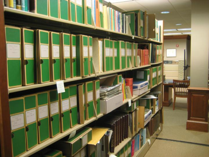 Years of shuffling and crowding had taken their toll on the ability to navigate the Library's periodicals collection.