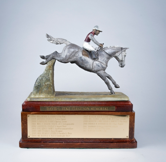 "David L. ""Zeke"" Ferguson Memorial Trophy, 2007, Collection of Mr. and Mrs. John T. Ferguson, Jr."