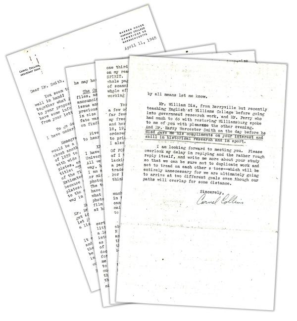collins letter