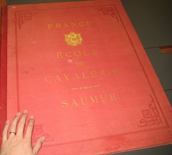 Caution. Objects in Rare Book Room may be larger than they appear. Hand placed for scale