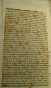 The news clipping. The small size of the book made getting a clear photo nearly impossible for my little digital camera.