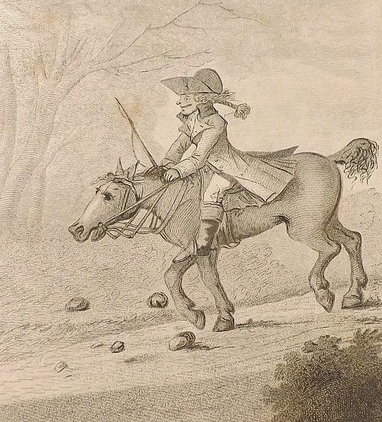 """""""How to ride genteel and agreeable down hill."""""""