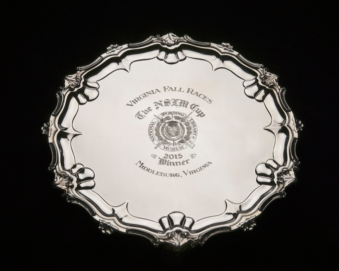 National Sporting Library & Museum Cup, 2015 Winner's Trophy William Hutton & Sons, Sheffield, England, 1930, sterling silver Gift of Juliana May, 2015