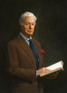 Thomas S. Buechner (American, 1926 - 2010) Portrait of George L. Ohrstrom, Jr. (1927 - 2005) oil on canvas, 40 x 30 ¼ inches Gift of the Ohrstrom Family, 2003