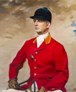 Portrait of George L. Ohrstrom, Sr. (1894 - 1955) by Erik Guide Haupt (American, 1891 - 1984), oil on canvas Gift of the Ohrstrom Family