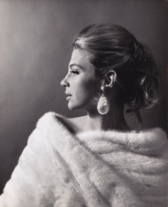 Ada Gates Patton modelling in the early 1960's
