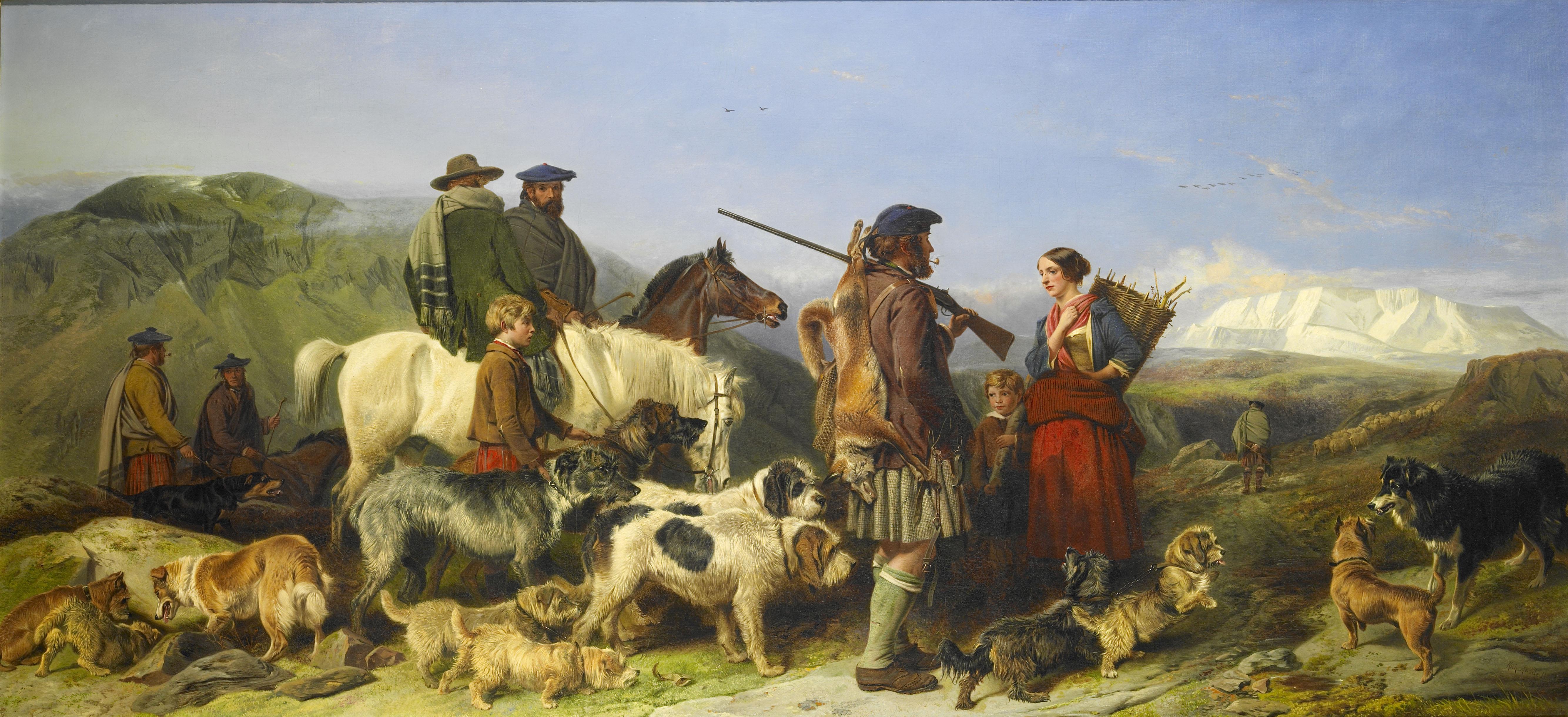 Garden & Gun & Dog – Drawing Covert