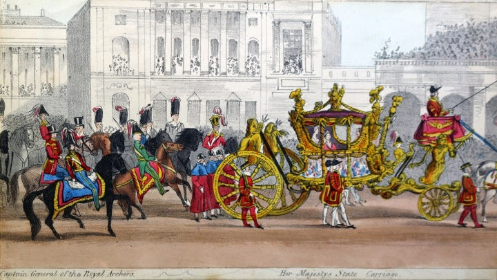 """Captain General of the Royal Archers,"" and ""Her Majesty's State Carriage."""