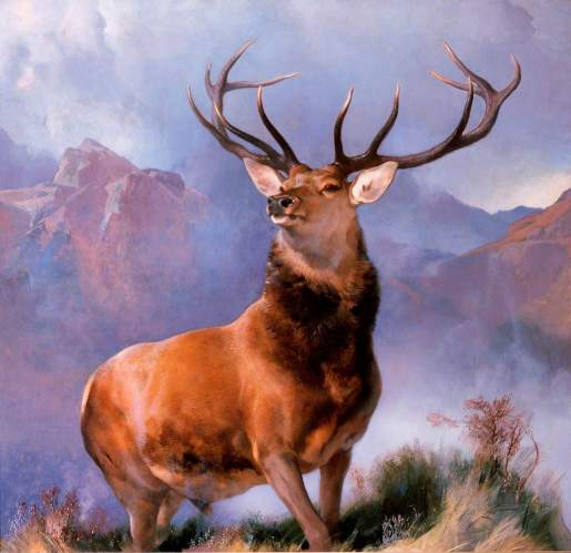 Edwin Landseer (1802-1873) Monarch of the Glen; National Museums Scotland; http://www.artuk.org/artworks/monarch-of-the-glen-184975