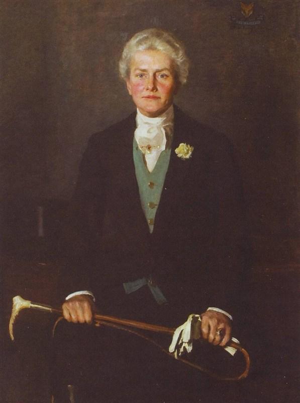 Portrait of Miss Charlott Noland