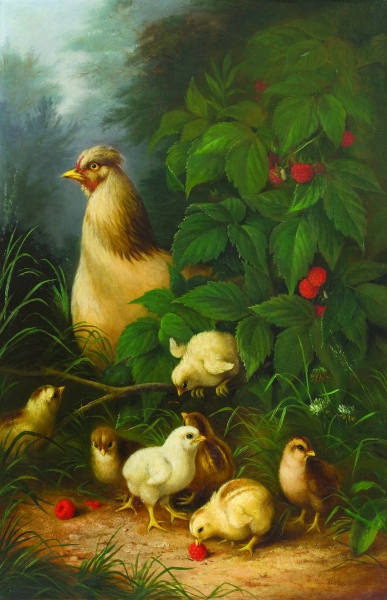 Susan Waters, Chickens & Raspberries