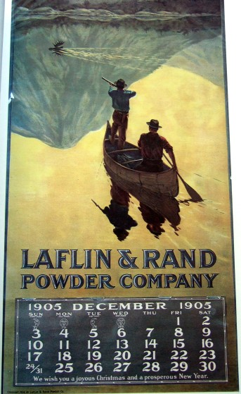 Artist unknown (1904 or 1905) for The Laflin & Rand Powder Company (left)