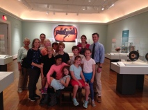 4th grade students visit the exhibition