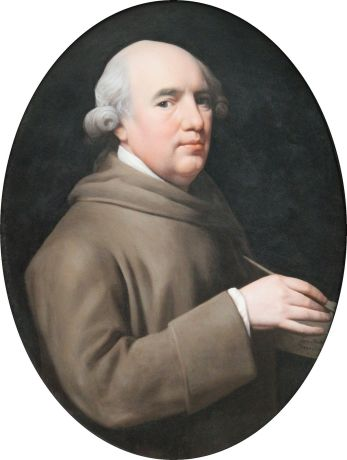 Self Portrait of Stubbs by George Stubbs, 1781 © National Portrait Gallery