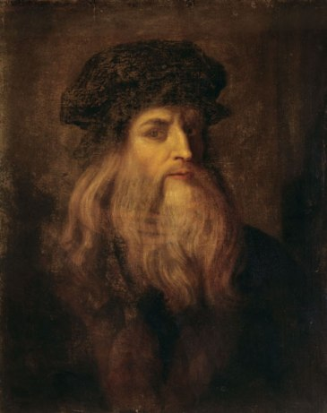 Leonardo da Vinci (1452 - 1519) Self Prtrait Florenz, Galleria degli Uffizi