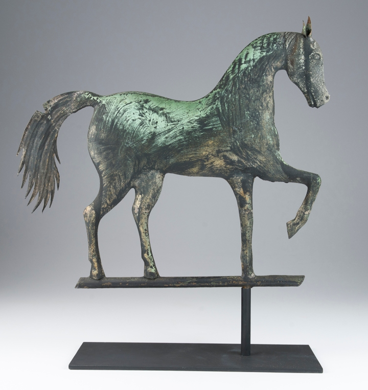 A Horse, with Left Front Leg Raised